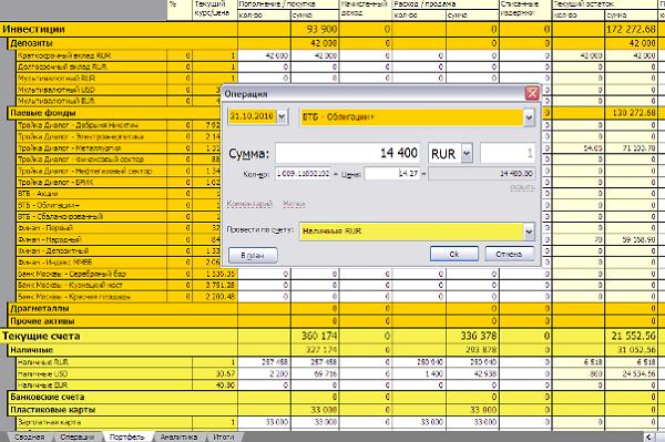 приложения для управления финансами